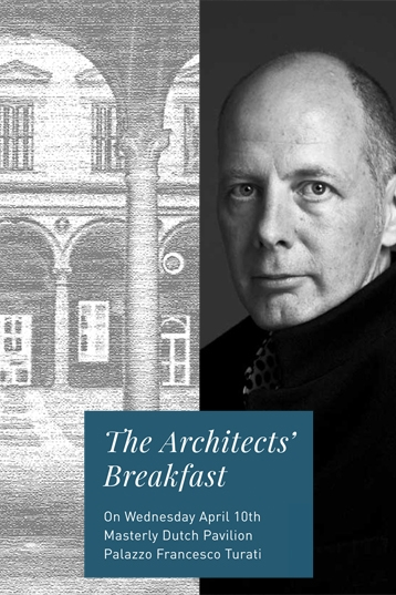"Ben van Berkel at ""The Architects' Breakfast"""